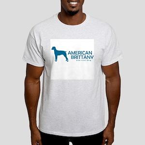"American Brittany ""One Cool Dog"" Ash Grey T-Shirt"