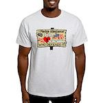 """""""I Pledge Allegiance"""" Light T-Shirt"""