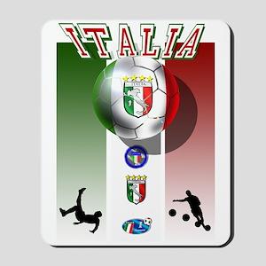 Italia Italian Football Mousepad