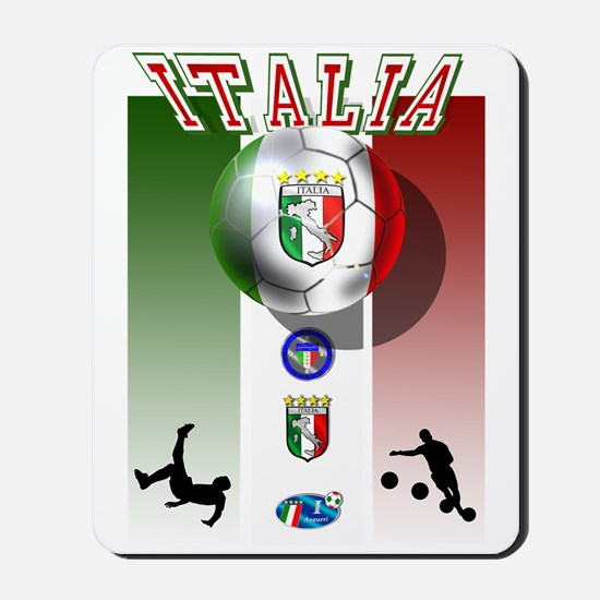 Italia Italian Football Mousepad