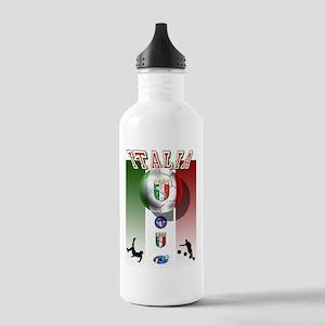 Italia Italian Football Stainless Water Bottle 1.0