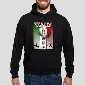 Italia Italian Football Hoodie (dark)