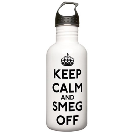 Keep Calm And Smeg Off Stainless Water Bottle 1.0L