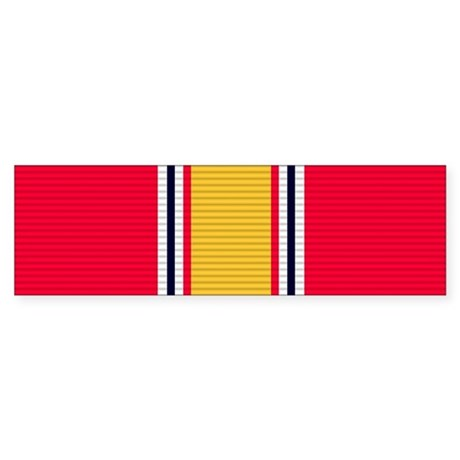 National Defense Service Medal Sticker (Bumper)