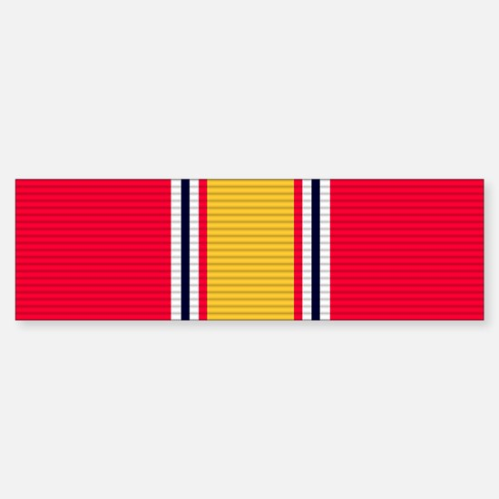 National Defense Service Medal Sticker (Bumper)
