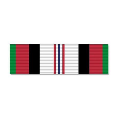 Afghanistan Campaign Medal Car Magnet 10 x 3