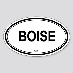 Boise (Idaho) Oval Sticker