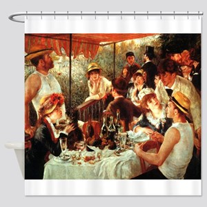 Boating Party Lunch Shower Curtain