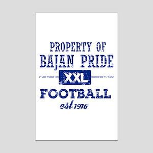 Property of Barbados Soccer Mini Poster Print