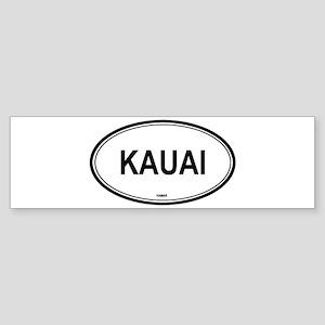 Kauai (Hawaii) Bumper Sticker