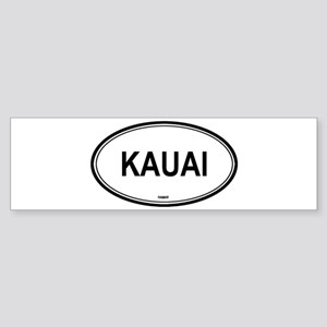 Kauai (Hawaii) Bumper Sticker