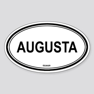 Augusta (Georgia) Oval Sticker