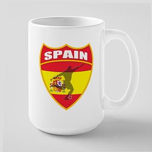 Spain World Cup Soccer Large Mug