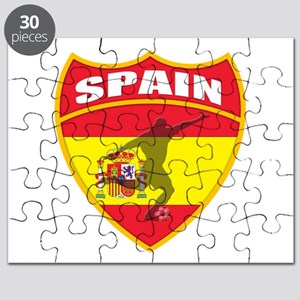 Spain World Cup Soccer Puzzle