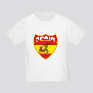 Spain World Cup Soccer Toddler T-Shirt