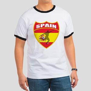Spain World Cup Soccer Ringer T