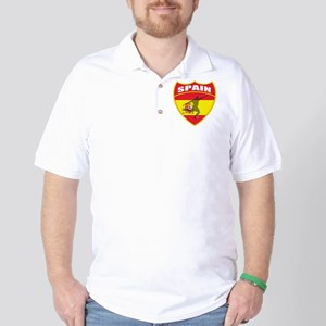 Spain World Cup Soccer Golf Shirt