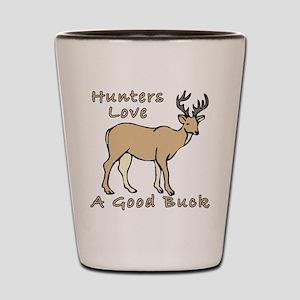 Good Buck Shot Glass
