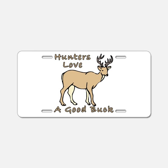 Good Buck Aluminum License Plate