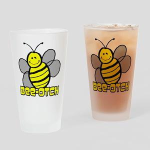 Beeotch Drinking Glass