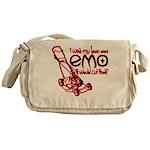 Emo Lawn Messenger Bag