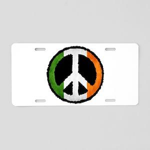 Irish Peace Aluminum License Plate