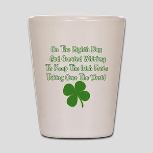 Irish Whiskey Shot Glass