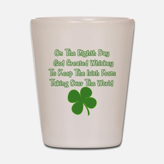 Irish Whiskey Shot Glass