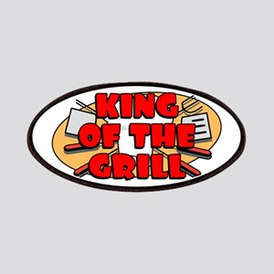 King Of The Grill Patches