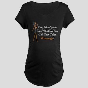 Whorange Maternity Dark T-Shirt