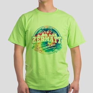 Zermatt Old Circle Green T-Shirt