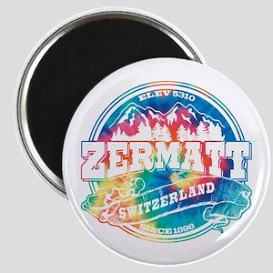 Zermatt Old Circle Magnet