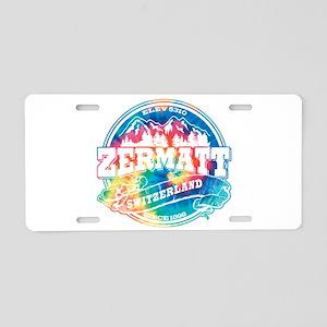 Zermatt Old Circle Aluminum License Plate