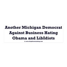 Michigan Democrat - Wall Decal