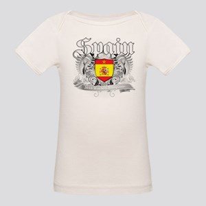 Spain World Cup Soccer Organic Baby T-Shirt
