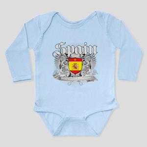 Spain World Cup Soccer Long Sleeve Infant Bodysuit