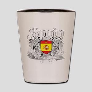 Spain World Cup Soccer Shot Glass