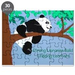 Panda loves libraries Puzzle