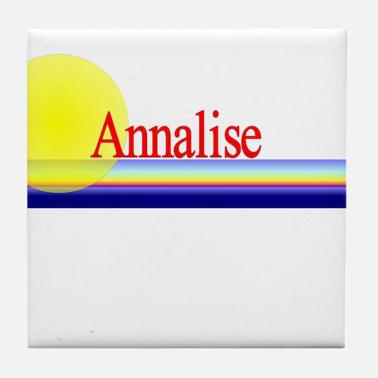 Annalise Tile Coaster
