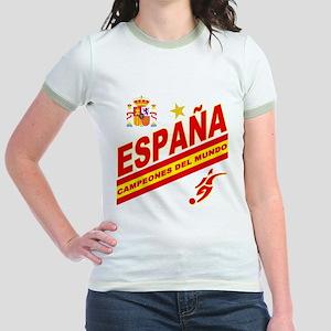 Spain World Cup Soccer Jr. Ringer T-Shirt