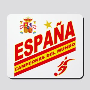 Spain World Cup Soccer Mousepad
