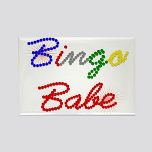 Bingo Babe Rectangle Magnet