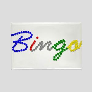 Bingo Rectangle Magnet