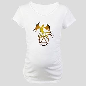 A.A. Logo Phoenix - Maternity T-Shirt