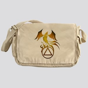 A.A. Logo Phoenix - Messenger Bag