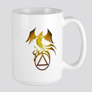 A.A. Logo Phoenix - Large Mug