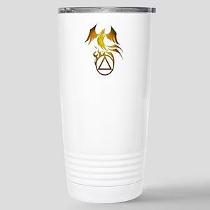 A.A. Logo Phoenix - Stainless Steel Travel Mug