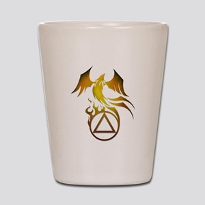 A.A. Logo Phoenix - Shot Glass