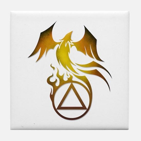 A.A. Logo Phoenix - Tile Coaster