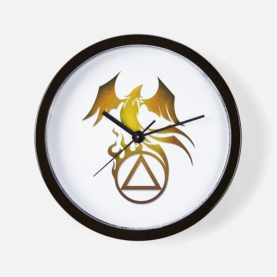 A.A. Logo Phoenix - Wall Clock